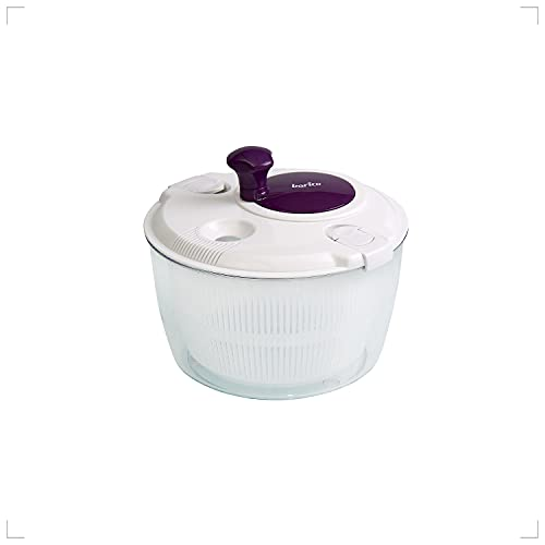 Barico Mighty Salad Spinner (Purple) / Salad Spinner Vegetable Spinner