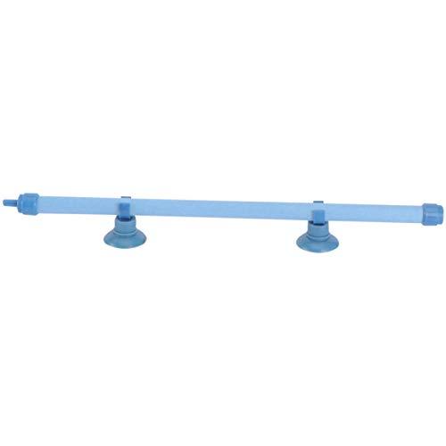 UEETEK 10 Pulgadas de Tanque de Pescado de Acuario de Burbujas de Pared de Aire Tubo de Piedra con la Taza de succión (Azul)