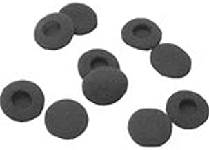 10 Pack of Black Foam Earbud Earpad Replacement Sponge Covers for iPod & Stereo Headsets