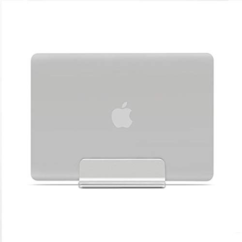 Zqw Aluminum Alloy Notebook Stand, Storage Stand Metal Base Creative Cooling Clip, Used for Apple MacBook Computer Stand Ipad Tablet.