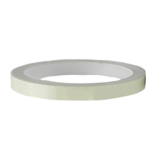 kowaku Pegatinas de Seguridad de Cinta Autoadhesiva Luminosa Impermeable Que Brilla en La Oscuridad - 1cm x 10m 10 cm x 10m