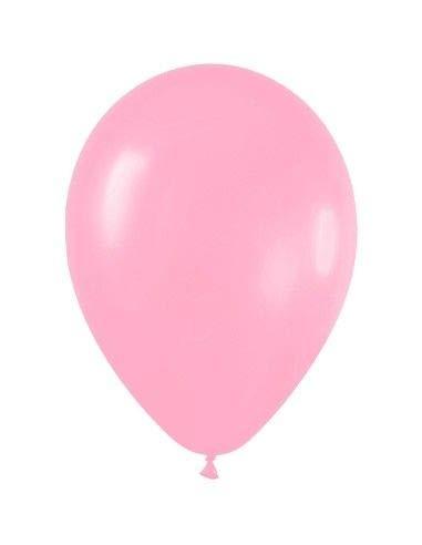 Sempertex - Bolsa de 50 globos sempertex r9 de 22.5 cm color fashion solido rosado (009)