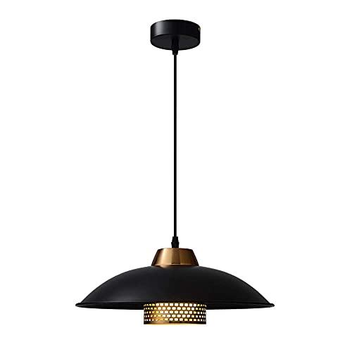WEM Lámpara de araña decorativa novedosa, lámpara colgante pequeña de un solo cabezal minimalista nórdico. Luz de araña retro de lujo ligero. Luminarias decorativas para bares, comedores y dormitorio