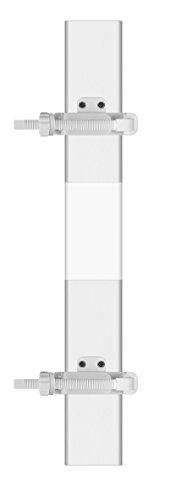 reer StairFlex zur Befestigung von Treppengittern an Sprossen-Geländern, weiß