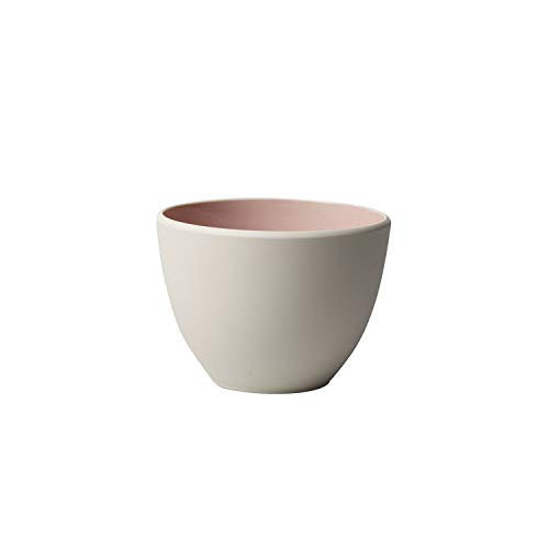 Villeroy & Boch it's my match Taza Uni, 450 ml, Porcelana Premium, 0.45 litros, Blanco/Rosa (Polvo)