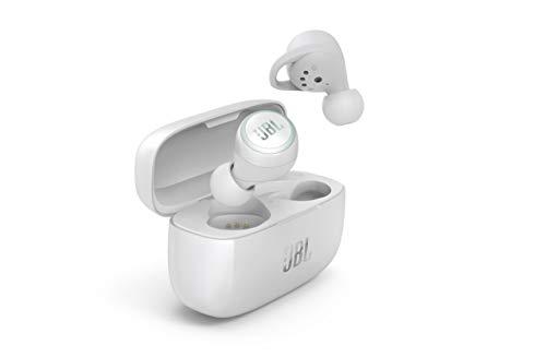 JBL LIVE300 – Fone de ouvido sem fio verdadeiro premium, Branco, One