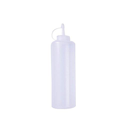 ADSIKOOJF plastic fles Squeeze dispenser voor taarten, sausazijn, dispenser voor olijfolie, ketchup, krog, keukenaccessoires
