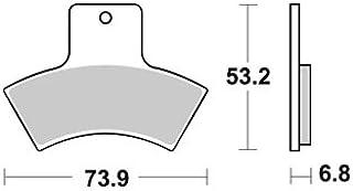 PLAQUETTES DE FREINS AVANT AP RACING BIMOTA DB5 MILLE 1000 2007-2013