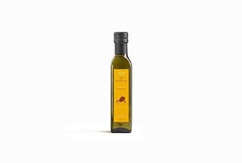 Volio Italienisches Natives Olivenöl Extra, mit Bio-Zitronen aufgegossen - Premium-EVOO, kaltgepresst, nativ - Frisch aus Italien - Italienische Feinkost & Delikatessen - 250 ml Flasche