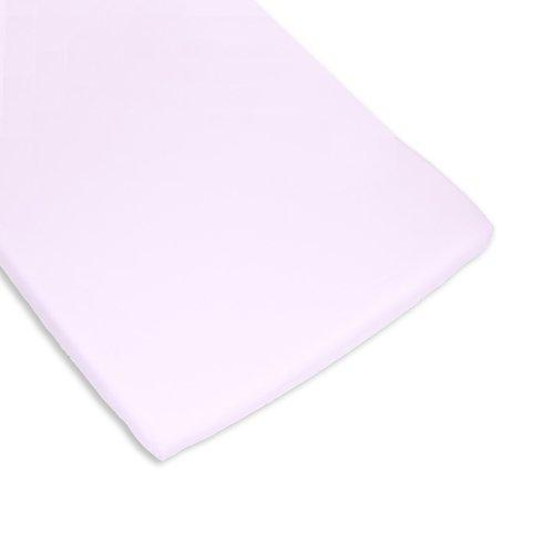 Bolín Bolón 1623803013200 - Bajera de algodón para mini cuna, color rosa