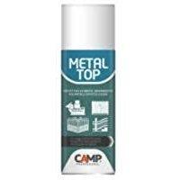 Camp METAL TOP, Protettivo trasparente spray per metalli, Anti-graffio, Idrorepellente, Inalterabile nel tempo, resistente a raggi UV