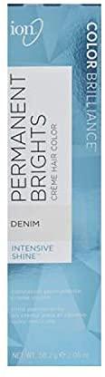 Ion Permanent Brights Creme Hair Color Denim Denim