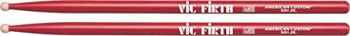 Vic Firth SD1JR Junior - Baquetas de batería, de arce, punta redonda