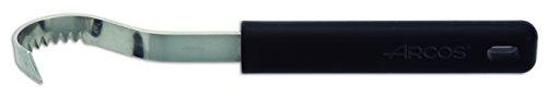 Arcos Gadgets Profesionales, Rizador de Mantequilla, Acero Inoxidable 85 mm, Mango de Polipropileno Color Negro