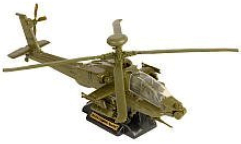 True Heroes Sky Warriors Die-Cast Helicopter - Grün AH-64 Apache Longbow by True Heroes
