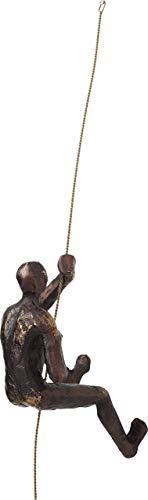 Kare 61623 Decorazione da Parete Climber Rope, Marrone, One Size