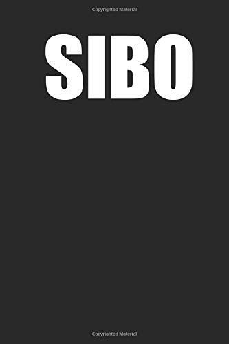 Sibo - food journal and food diary log book. Portable daily sibo planner. 120 pages, note down your daily food habits, gut issues