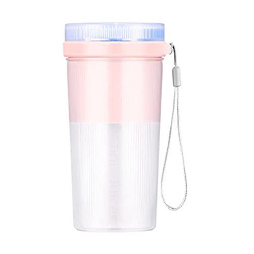 Prasacco Batidora portátil, batidora eléctrica para batidos de leche, licuadora de batido de leche, vaso de licuadora recargable USB, fabricante de batidos para el hogar, oficina, viajes