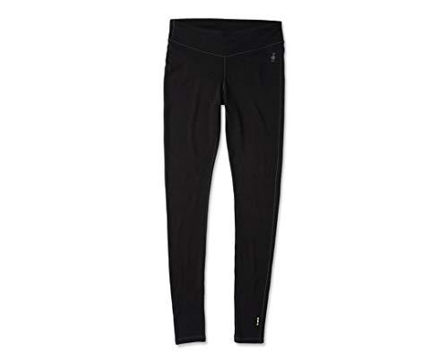 Smartwool Women's Baselayer Bottom - Merino 250 Wool Performance Pants Black (BLACK, S)