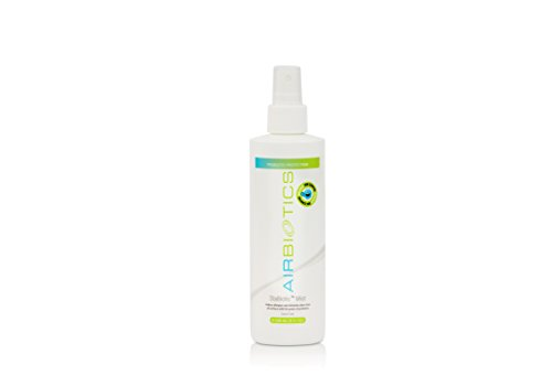 Probiotics Organic Allergy Combating All Surface Stabiotics Mist - Replaces Your Aerosol Products, Reduces Allergens, Eliminates Odors, Apply To Pillows, Bedding, Carpets, Toys, Tables & More (8 oz)