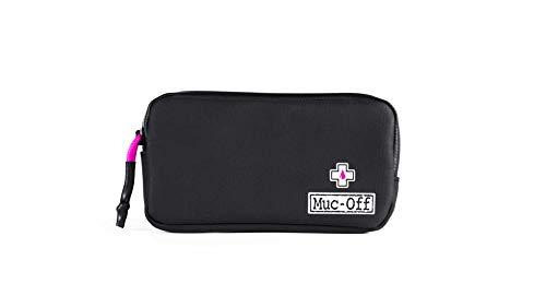 Muc-Off 20278 Regendichte Essentials Tasche – Robustes 900D Polyester schwarz wasserabweisend Aufbewahrungstasche – Ideal zur Aufbewahrung von Ersatzschläuchen, Reifenhebern und Handy