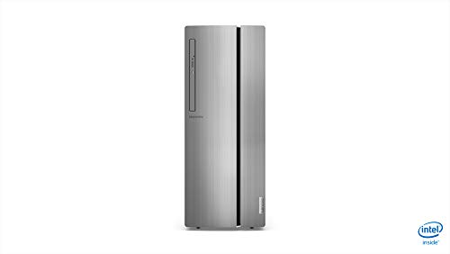 Lenovo Ideacentre 510 Desktop, Prozessor Intel Core i5-9400F, 512 GB SSD, 8 GB RAM, AMD Radeon RX 560, Mouse+Keyoard, USB, DVD±RW, Windows 10, Silber
