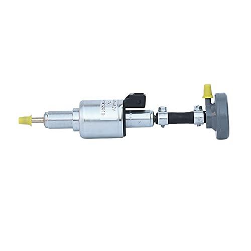 linger Bomba de Combustible del Calentador de 12V DP30 con Amortiguador 86115A 86115B Reemplace el Ajuste para el Calentador de webasto (Color : Silver)