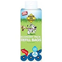 SIMPLE AND ERGONOMIC - Bags on Board Dog Poop Bags are a proven solution for dog poop removal, containment, and disposal. Fewer moving parts than a complicated scooper, and way less gross than using your bare hands. AMPLE ROOM FOR THE BOOM BOOM - The...