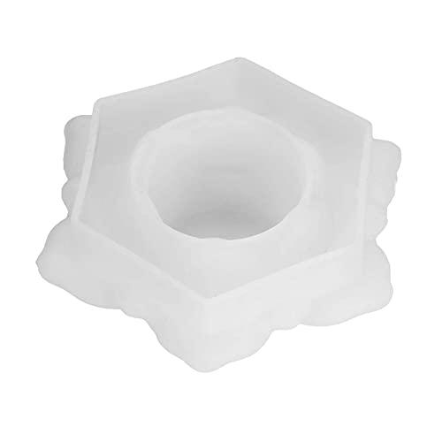 NIMON Lotus Velas Moldeos de molde de silicona, moldes de la fundición de la resina de flor de loto, para el molde de decoración de escritorio de bricolaje. consistent