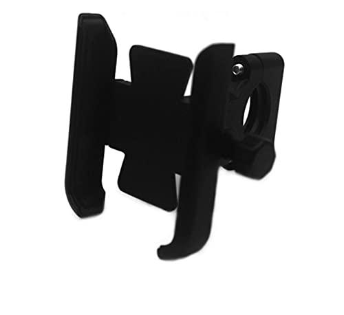 BRIGHTSUN XXshop FIT FOR FOR Yamaha XMAX300 XMAX400 125 250 300 400 Accesorios para Motocicletas Handlebar Soporte de teléfono móvil Soporte de Soporte GPS (Color : Handlebar Black)