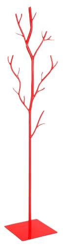 appendiabiti da terra rosso Generico Appendiabiti da Terra in Ferro BATTUTO ATTACCAPANNI Albero Salice Rosso