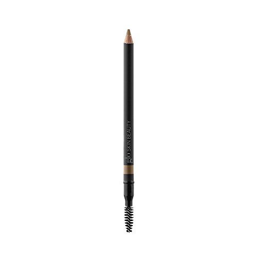 Glo Skin Beauty Precision Brow Pencil in Blonde - Eyebrow Pencil for Natural Looking Eye Brows - 3 Shades - Define and Fill
