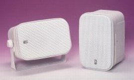 Poly-Planar MA-800-W 5x7.5 Box Speaker White 50W,