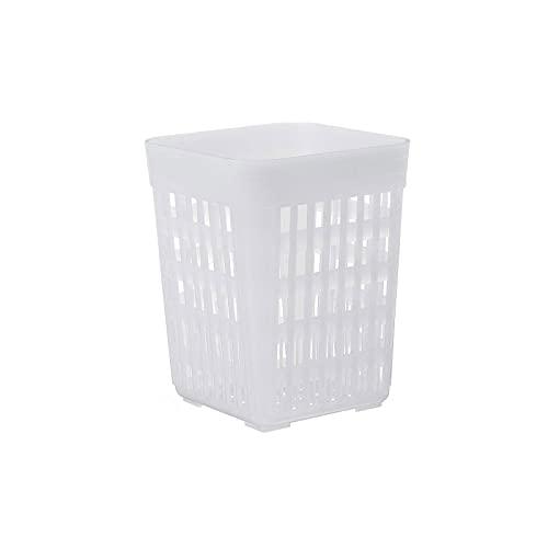 Wzdszuilsn Organizador Cubiertos, Caja de almacenamiento de canasta de cubiertos de lavavajillas universal para horquilla palillos cuchara Cuchara de cocina Pieza de repuesto Caja de almacenamiento de
