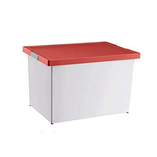Dabeigouzzhiwl almacenaje, Caja de almacenamiento reforzada y duradera, caja de almacenamiento para el hogar, bolsa de almacenamiento de plástico, caja de almacenamiento de armario engrosado grande, c