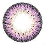 Farbige Jahres-Kontaktlinsen lila violett ohne Stärke, auch für dunkle Augen - Colors of the Wind., pure grap(cow38)