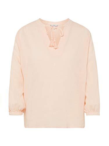 Mavi Damen Blusen Regular V Neck Blouse Cloud pink S