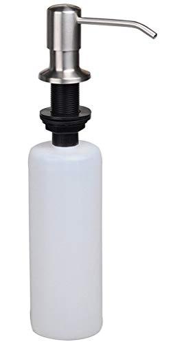 500ml Stainless Steel Soap Dispenser Polish Kitchen Sink Liquid Pump Bottle