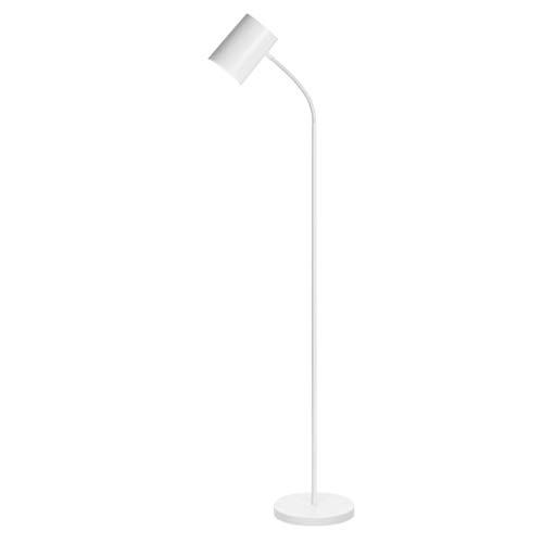 Staande lamp, vloerlamp, Scandinavisch Europese en Amerikaanse stijl, eenvoudige moderne woonkamer, slaapkamer, werkkamer, leeslamp E27 licht, creatief kantoor, wit, staande lamp