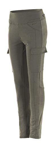 Alpinestars, Iria, motorbroek voor dames, legging Lady Aramid Large legergroen