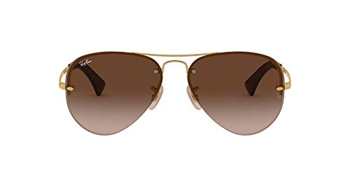 Ray-Ban Rb3449, Gafas de Sol para Hombre, Marrón (Arista), 59