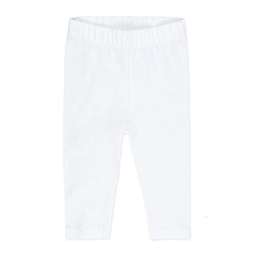 FEETJE Legging Bébé Fille Uni - Blanc - 18 mois