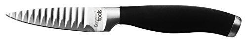Aubecq 500321 Couteau Groove Tech à Eplucher 7cm, Acier Inoxydable, INOX, 20 x 3 x 2 cm