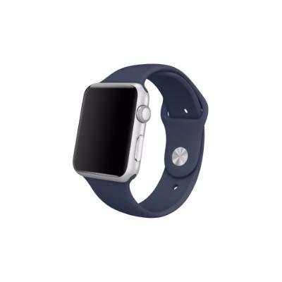 Pulseira Sport Tamanho Feminino Azul Marinho Compativel com apple watch de 42mm e 44mm