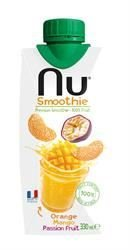 petit un compact Jus-Smoothie-Fabriqué en France-Nu Smoothie Mixte Jus-Boisson-Orange Mangue Passion -…