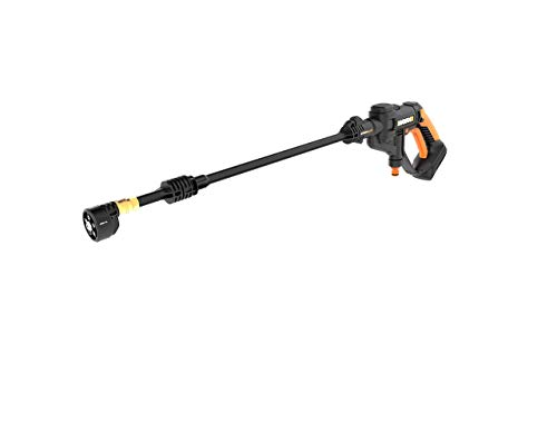 Worx WG629.9 Hydroshot 20V PowerShare 2.0 Ah 320 PSI Cordless Portable Power Cleaner (Tool Only) (Renewed)