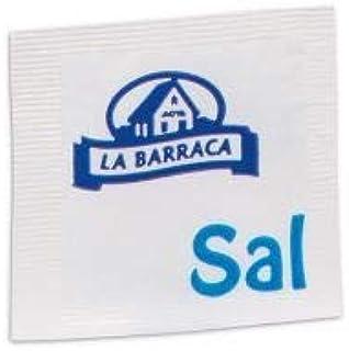 Monodosis individuales para hostelería Aceite, Vinagre, Módena, Sal, Pimienta (250 sobres sal yodada 1 gramo)