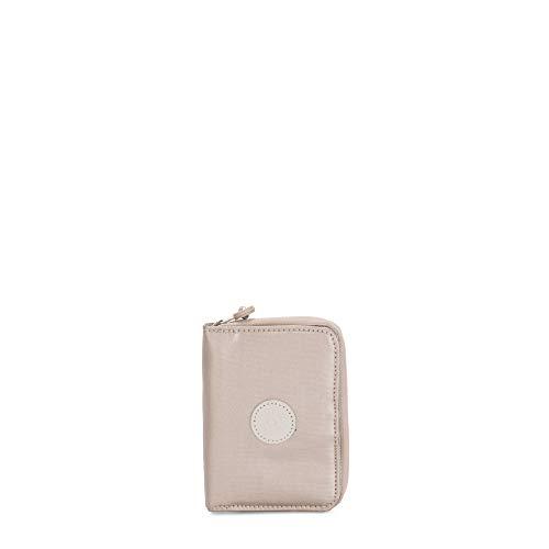 Kipling Cartera RFID para mujer, Brillo metálico., Talla unica