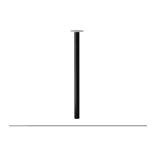 Ikea ADILS Bein in Schwarz; (70cm)