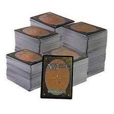 Magic (MTG) 1000 Cartas comunes (Bulk) y infrecuentes (en Ingles)